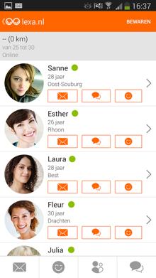 lexa dating-app